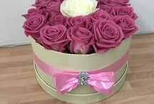 Luxury Rose Hatboxes