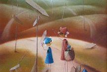 Obrazy pastelowe Dariusz Twardoch