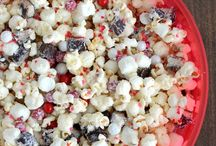 Popcorn Recipes / Caramel, chocolate, peppermint, cheddar cheese— the recipes are endless when it comes to popcorn!  Mix your popcorn with other snack favorites, or spice it up with a new type of flavoring.  Now let's start popping! / by Pop Secret