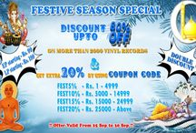 Double Discount on Festive Session