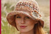 Cappelli donna uncinetto