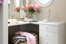 bedroom/bathroom ideas / by Debbie Roppolo