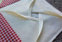 Texture/ fabric folding