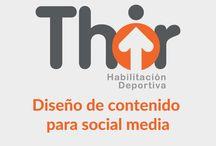 Thir Chile- Diseño de contenidos sociales