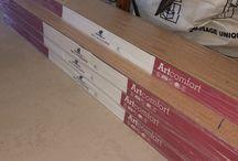 Wicanders Artcomfort / Pose de Parquet Wicanders Artcomfort dans mon appartement.  Planche de 183 cm.  Blaze Oak et Sorrel Carv.