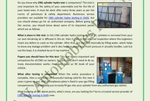 Important Things To Know About CNG Cylinder Hydro Testing / Do you know why CNG cylinder hydro test is compulsory? This test is very important for the safety of your automobile and for the life of your loved ones. It must be done after every three years as per the norms of petroleum & safety department. Numerous service providers are available for CNG cylinder hydro testing in Delhi, but you should always go for an authorized company. Before going for this service
