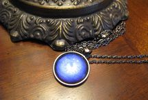 Jewelry making / I make custom purse hooks and pendants.