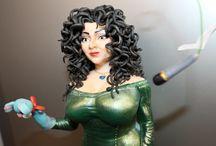 Лолита Милявская @lolitamilyavskaya / Фигурка из сахарной мастики .высота 23 см.