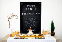 Cheese Table - Bar à fromages / Idées et inspirations autour d'un bar à fromages