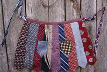 Old tie crafts