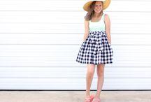 skirt pattern girls