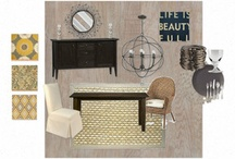 Design:  Boards / Inspiration boards created by me, or by others, that may inspire a new room makeover. / by Turnstyle Vogue