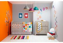 Multi Colored Nursery Inspiration / Modern nursery ideas that are gender neutral but still colorful and stylish