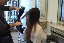 PIEGA a phon per LISCIARE i capelli: Il brushing