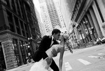 City Wedding posing ideas