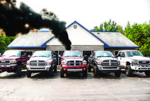 Diesel Trucks / These are Diesel Pickups that we have either built, worked on, or just have our parts in them. Some of them are daily drivers and some of them are pulling trucks. View more at  http://www.engineered-diesel.com/diesel-trucks-with-performance-parts