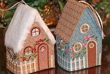 3D domečky