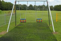 Safagrass Playground Surfacing / Products for turning natural grass into a commercial playground  impact safety surface