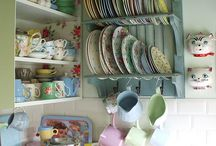 plates and tea cups!
