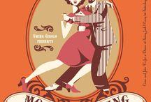lindy hop art / Arts, design, posters ed.
