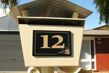 House numbers / Handmade house numbers professionally designed and made in Australia