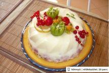 Torták sütés nélkül