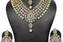 Beautiful Bridal Kundan Wedding Jewelry