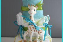Baby Shower / Des idées de Baby Shower sur le thème de Sophie la girafe®