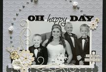Scrapbooking wedding