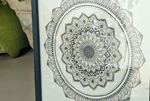 mandala art / all of the mandala drawing are original work by me.  please follow my Instagram account @me.kalaakar for more of this amazing hand-drawn mandalas and ornate art products