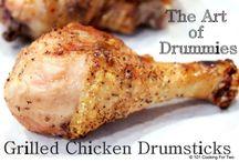 Grilled drumsticks