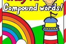 CRAZY FOR COMPOUND WORDS / Studying compound words offers a great opportunity to engage students in understanding the English language. - http://eslchallenge.weebly.com/compound-words-pack.html