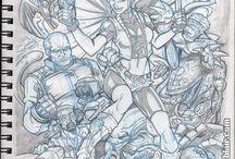Resident Evil : Sketch