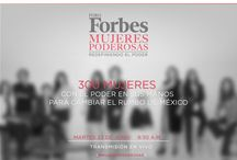Foro Forbes #MujeresPoderosas / Este martes 23 de junio traemos para ti el Primer Foro Forbes Mujeres Poderosas.