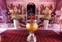 Αγ.Νικόλαος Γλυφάδα / Ανθοστολισμός και διακόσμηση γάμου - βάφτισης στον Αγ.Νικόλαο Γλυφάδας