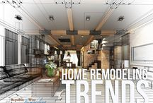 Home Remodeling Trends / Stay up to date on the latest trends in home design and remodeling.