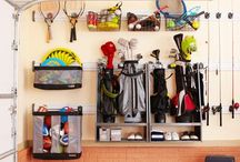Garage Organization  / Simple. Direct. Effective. Spaces which inspire me to get into my garage and organize! www.ideservepeace.com / by Shelley Rubalcava