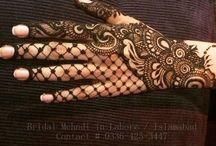 Mehndi for wedding