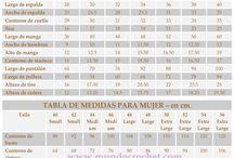 Tabla/ medidas