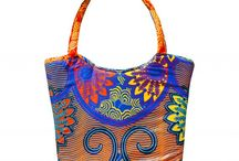 Hand Bags / African print Handmade bags from exotica swimwear. Available in different colours.