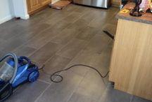 Vinyls floor tiles