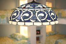 sininen uni lamppu