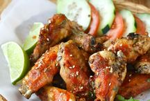 Recipes - chicken wings / by Theresa Rezel