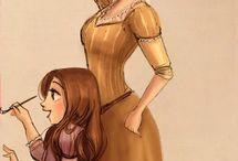 pinturas princesas disney
