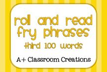 Word Work:  high frequency words