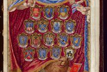 Nomi, cognomi e stemmi dei Signori di Collegio / Nomi, cognomi e stemmi dei Signori di Collegio (Tribuni della Plebe e Massari delle Arti) dall'ultimo quadrimestre 1583 al primo quadrimestre del 1618. Biblioteca dell'Archiginnasio - Archi Web - Raccolte digitali.