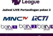 Jadwal LIVE pertandingan Liga Primer Inggris pekan kedua