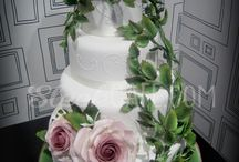 Our Wedding Cakes / le ns. Wedding Cakes