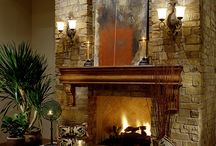Fireplaces / by Kathy Bowen