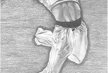 My drawings (Erkan Nehir) / Drawings art artist pencil black